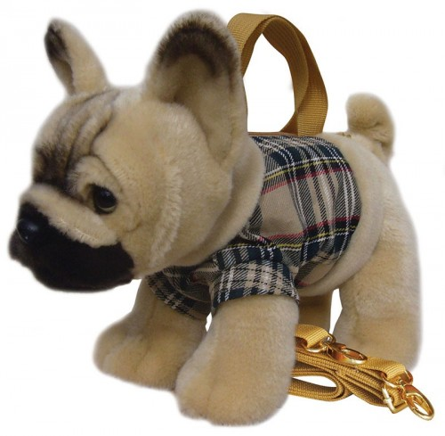 French Bulldog Tartan Handbag  Image